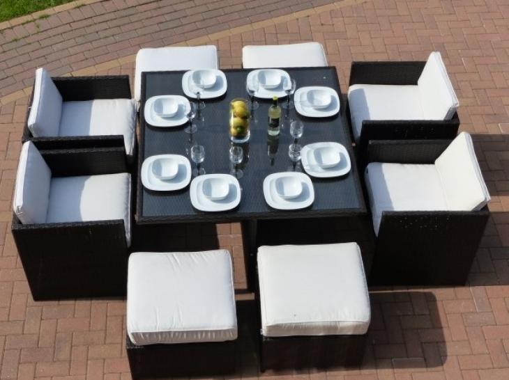 Original Rattan Oceana Cube Set