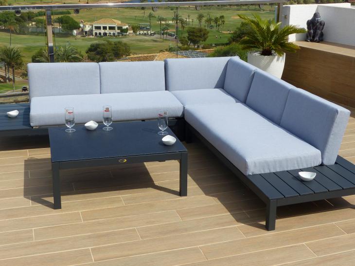 Muebles de jardin valencia cheap muebles auxiliares de - Conforama valencia sofas ...