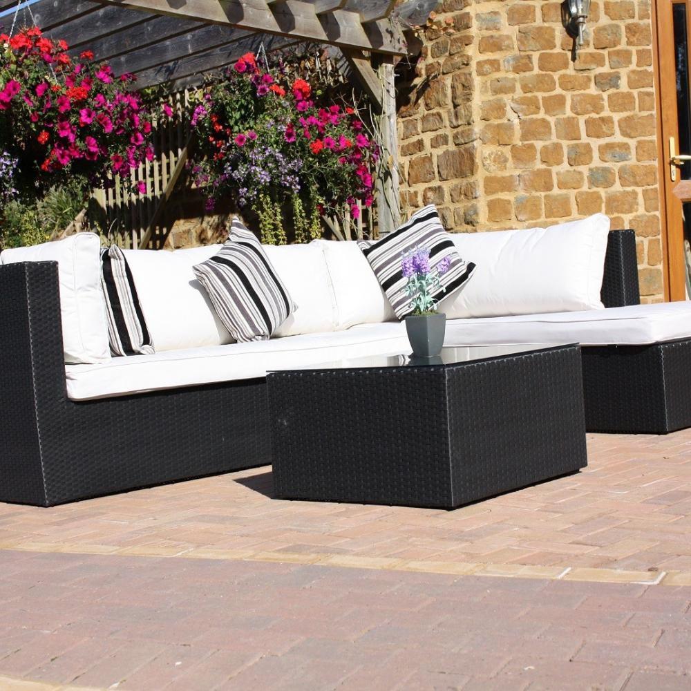 Puerto Rico Rattan Sofa Set Left Handed Oceans Garden Furniture