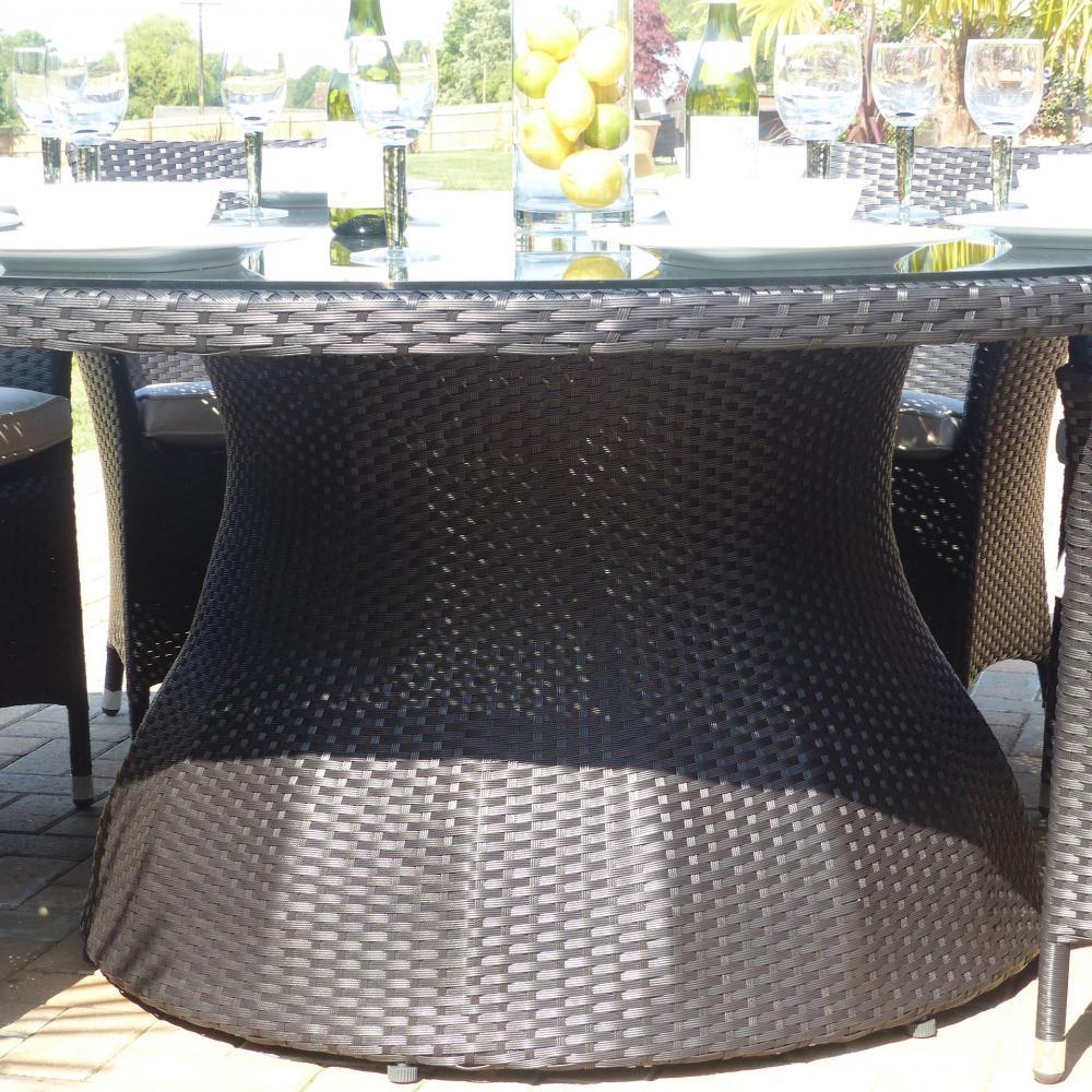 Malaga Rattan Dining Set Oceans Garden Furniture