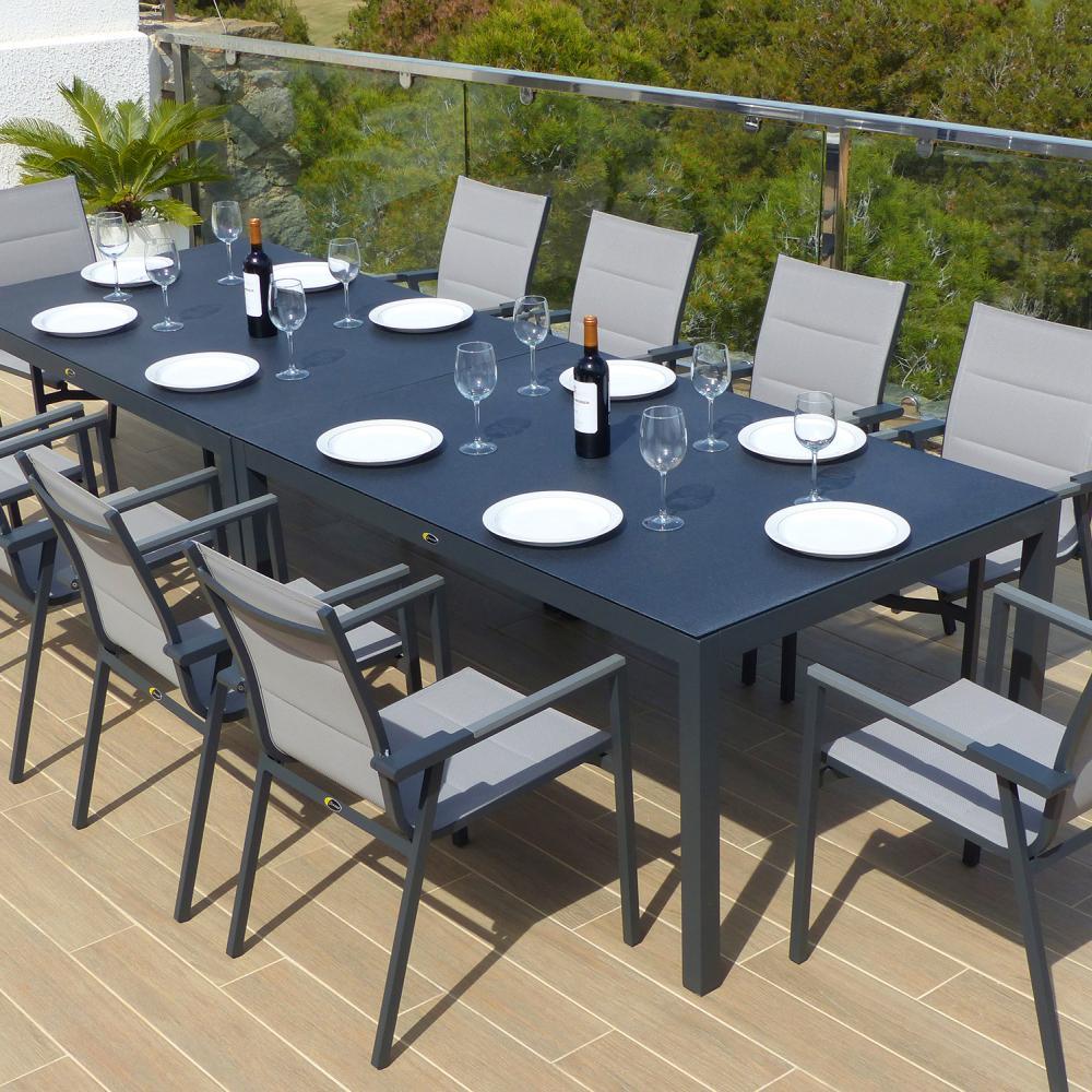 Comedor de jard n valencia con 10 sillones valencia - Muebles jardin valencia ...