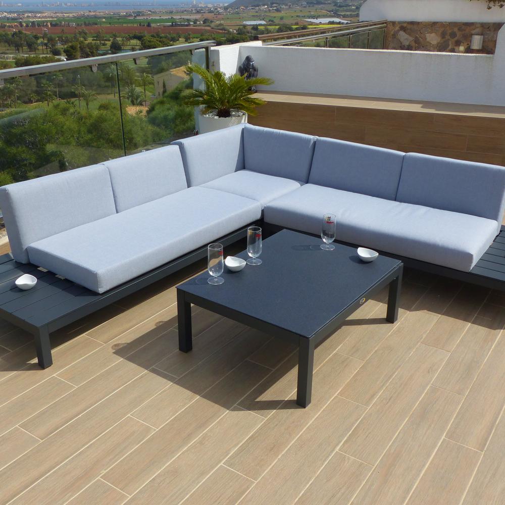 Esquinero de lujo valencia oceans muebles de jard n for Muebles de jardin valencia