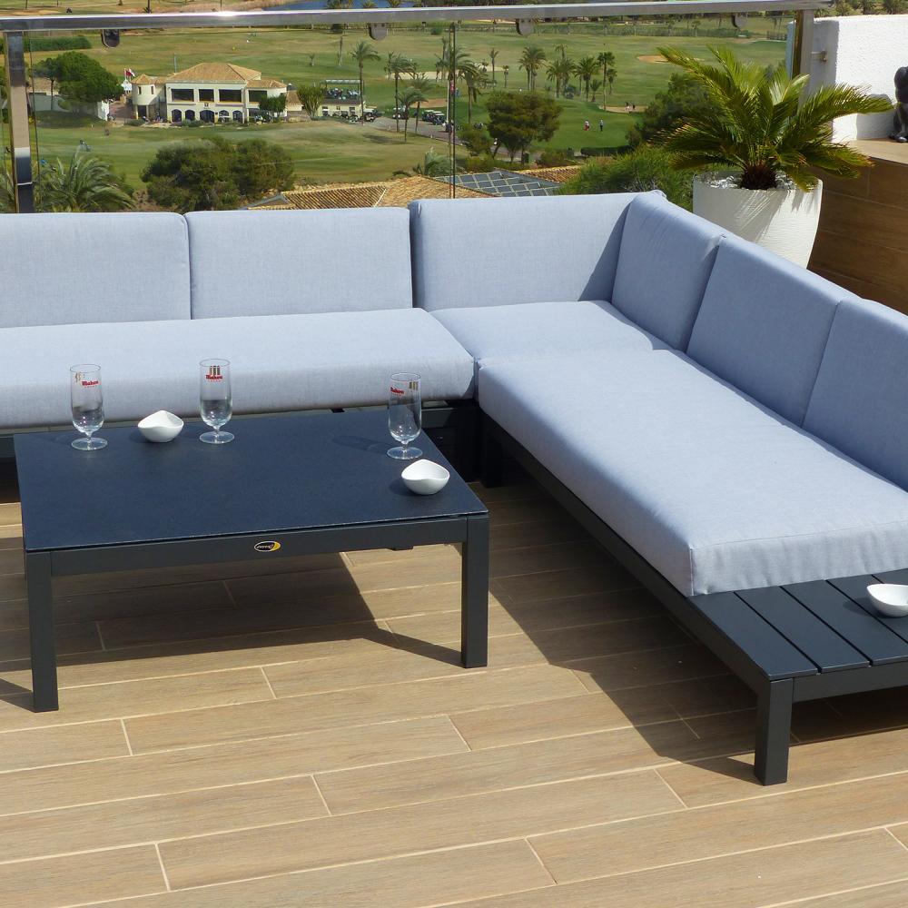 Esquinero de lujo valencia oceans muebles de jard n for Rebajas muebles jardin