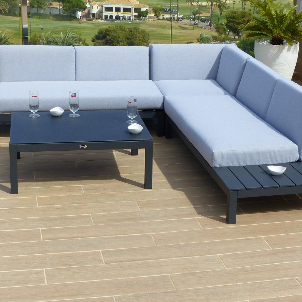 Esquinero de lujo valencia oceans muebles de jard n - Muebles jardin valencia ...