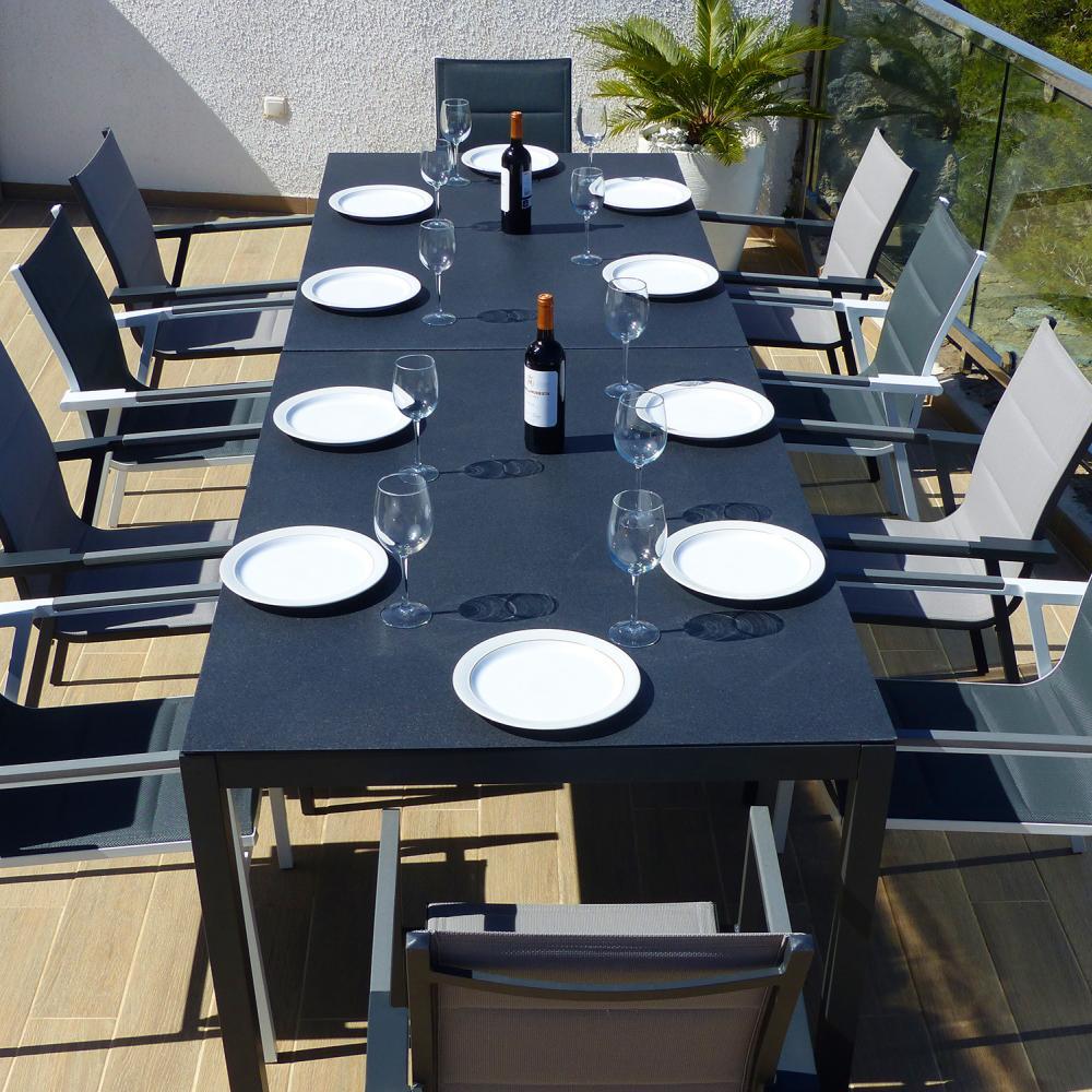 Comedor de jard n valencia con 10 sillones valencia for Rebajas muebles jardin