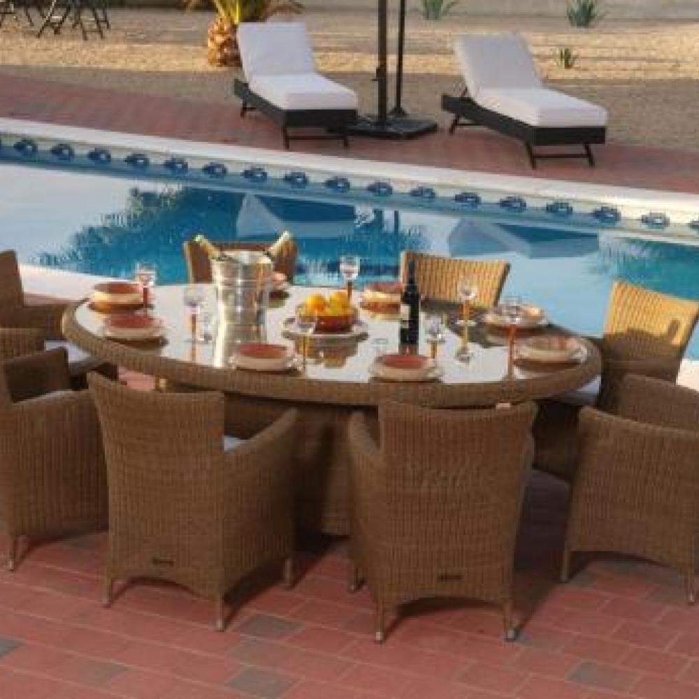 Fundas de coj n para comedor 8 asientos bahama comedor 8 for Asientos de comedor