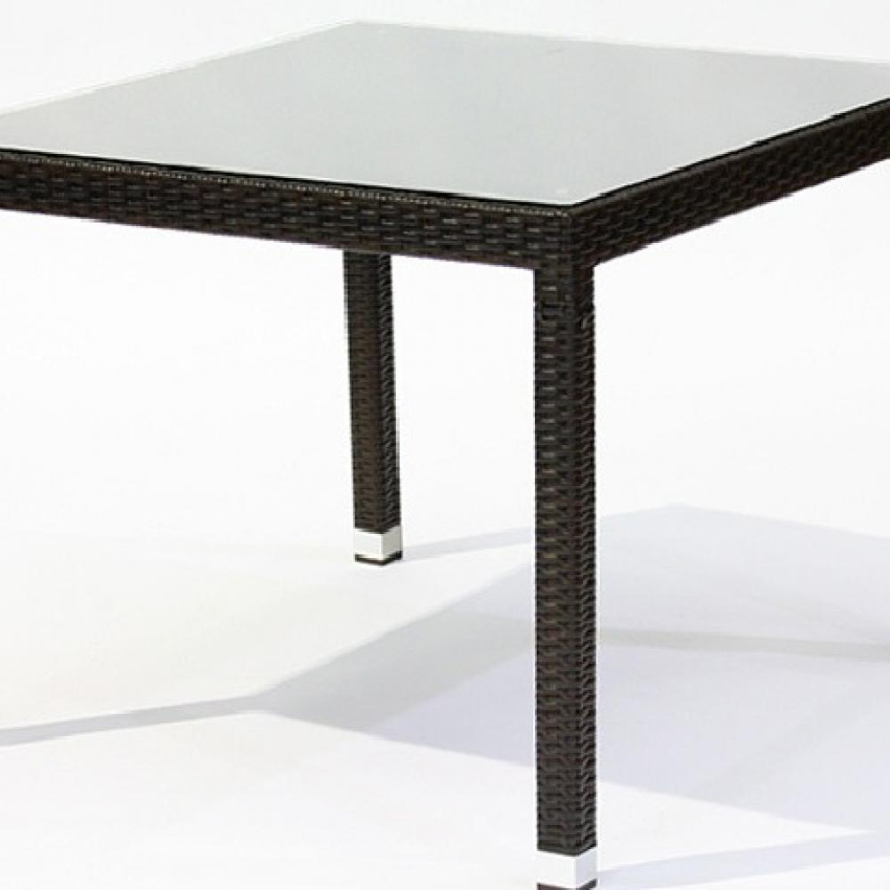Mesa de 90cm marbella oceans muebles de jard n for Rebajas muebles de jardin