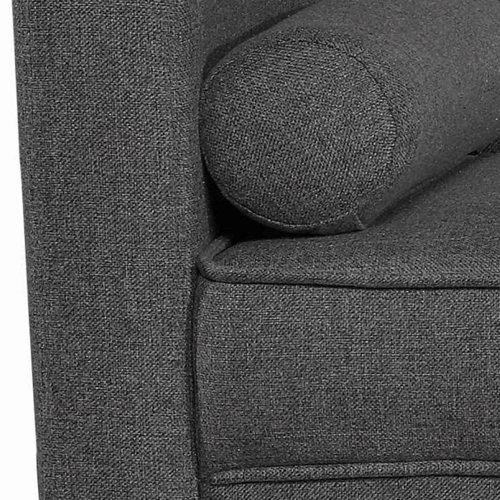 Fundas de cojines para sof jard n alpine gris antracita for Fundas de sofa gris