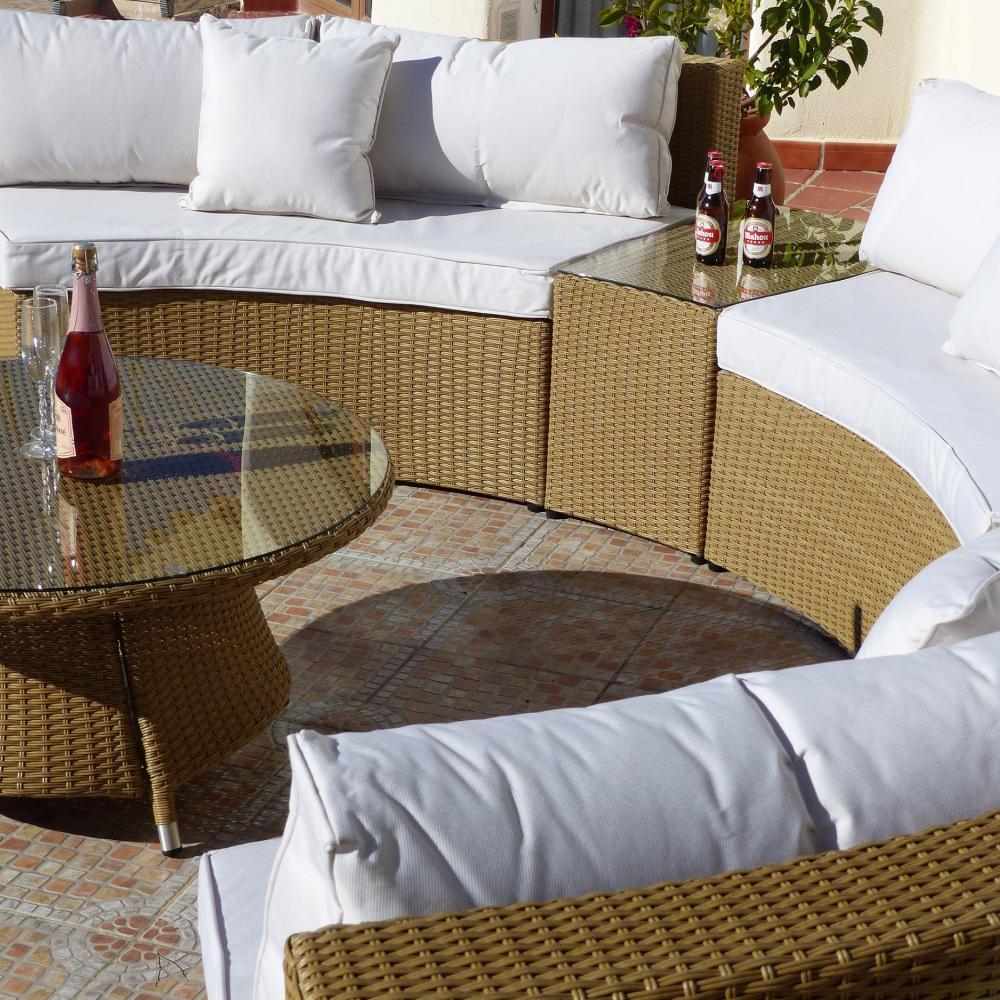 Cojines para conjunto mallorca oceans muebles de jard n - Cojines para sofas de jardin ...