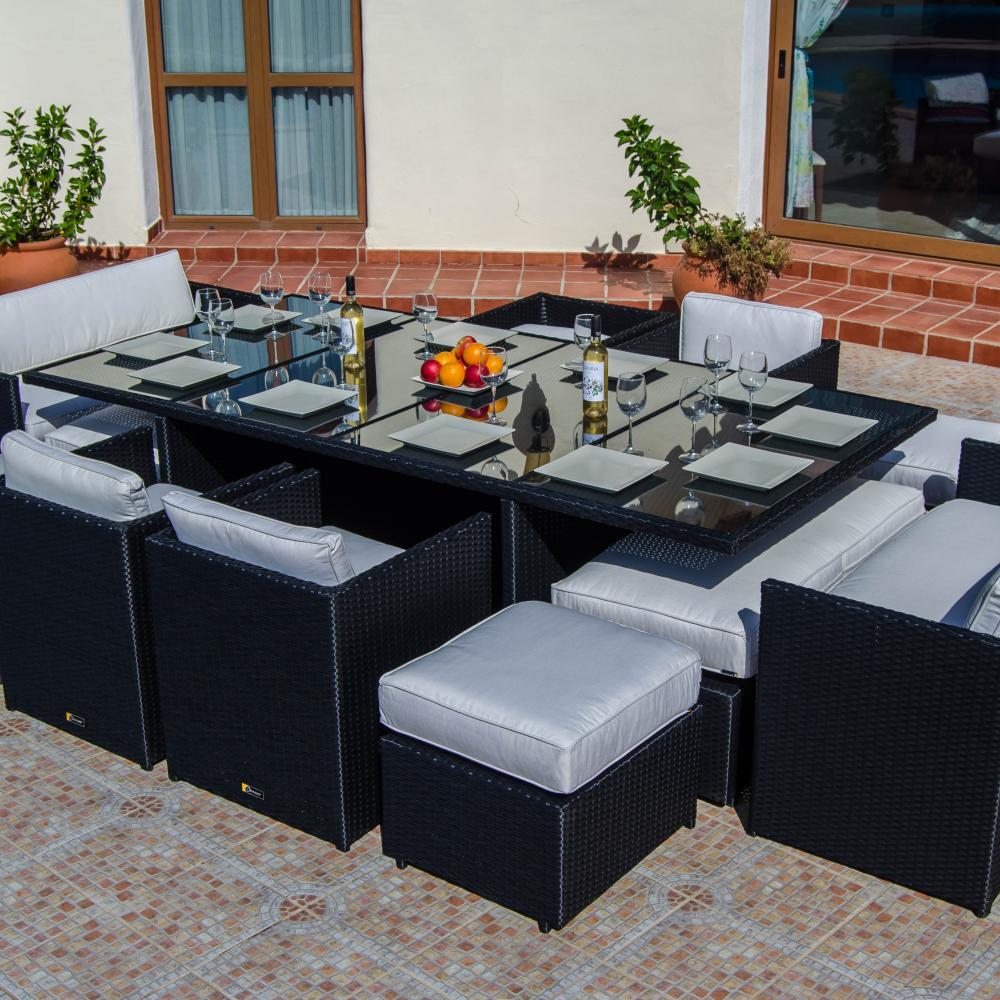 Comedor c bico de rat n super deluxe oceans muebles de for Rebajas muebles de jardin
