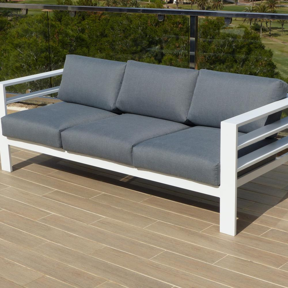 Valencia 3 Seat Sofa Oceans Garden Furniture